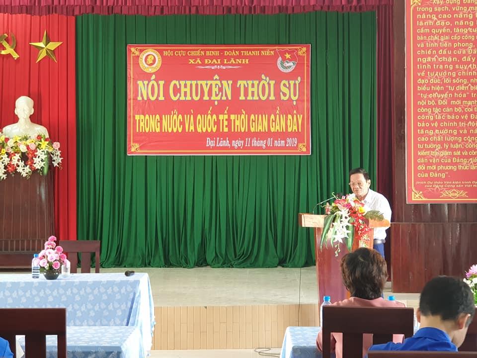 Dai Lanh noi chuyen