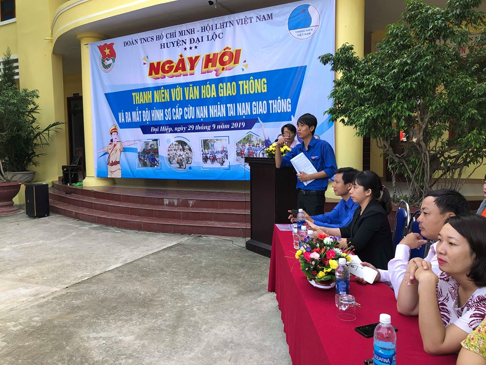 Đại Lộc: tổ chức ngày hội văn hóa giao thông